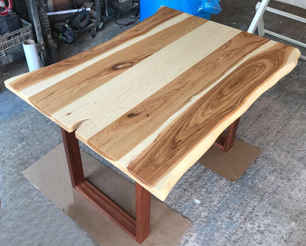 butcher-rustic-natural-round-cool-table-solid-block-furniture-high-hickory-dining-top