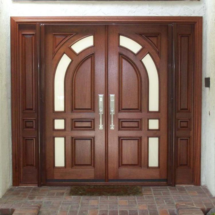 new-design-wooden-double-door-round-designs